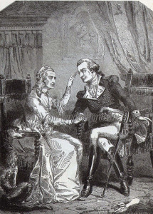 During the American Revolution, George Washington was often distracted by his complaining mother.